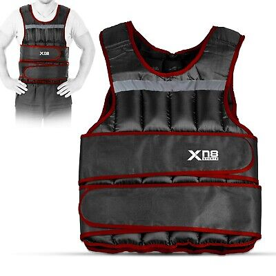 Weighted Vest 20kg Adjustable Jacket