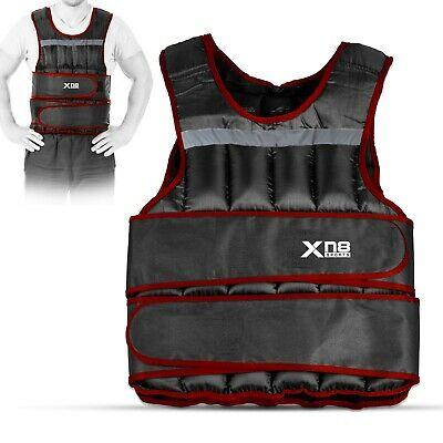 XN8 Adjustable Weight Weighted Vest Fitness Training Gym Running Strength Jacket