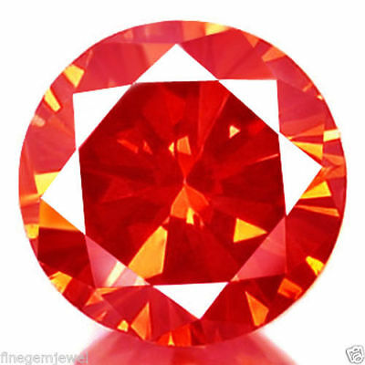 1.31ct HUGE RARE NATURAL SPARKLING BRIGHT RED DIAMOND EARTH MINED REAL DIAMOND!