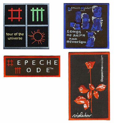 DEPECHE MODE: Songs Of Faith, Violator, Logo, Icons : Sew /Iron On Woven Patch