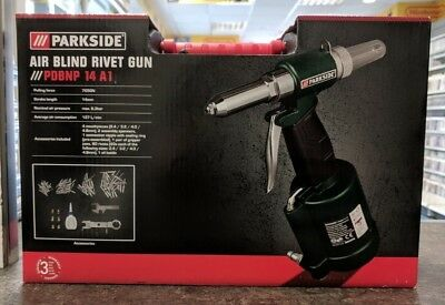 Parkside Pneumatic Blind Rivet Gun PDBNP 14 A1