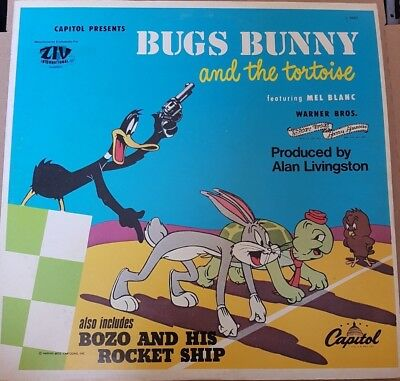 Bugs Bunny and the Tortoise  - englisches Hörspiel - Vinyl - Capitol L 6962