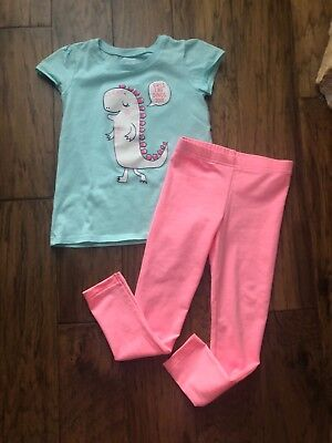 Used Once! Carter's The Children's Place Toddler Girl 5T Summer Outfit Clothes