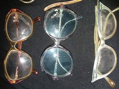Vintage Eye Glasses And Cases Lot