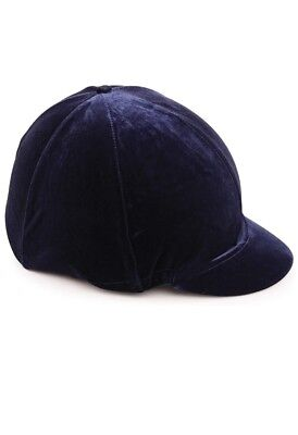 Hy Black Velvet Skullcap Cover Hat Cover New With Tags Small