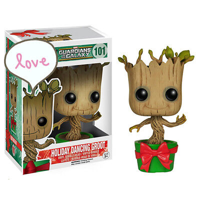 Baby Dancing Groot Guardians of The Galaxy Figure Toy New head shaking Xmas Gift