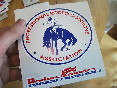 Professional Rodeo Cowboys Bumper Sticker Laptop Sticker Window Sticker Toolbox