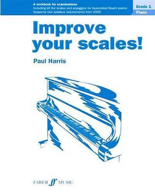 Improve Your Scales! Piano Grade 1 Paul Harris Practice Music Exam Learn Theory