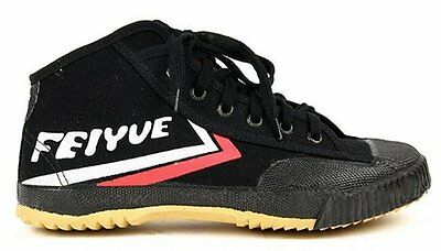 Feiyue HI TOP Black Kung Fu Wushu Shoes