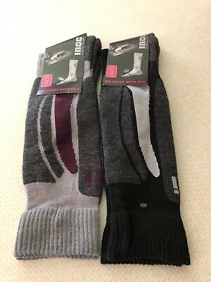 In Need Of Challenge Ski Socks With Silk ..brand New..size 9-11..holidays/snow