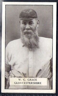Gallaher-Famous Cricket Ers-#072- Gloucestershire - Wg Grace