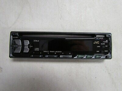 Jvc Kd-S630 Cd / Stereo Replacement Face Plate Black Ks-Ps630J Marine Boat
