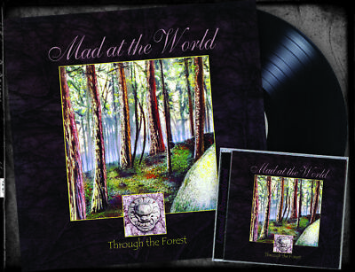 MAD AT THE WORLD-THROUGH THE FOREST (VINYL + CD Bundle, 2018, Retroactive)