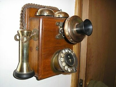 Antique Wall mounted Phone