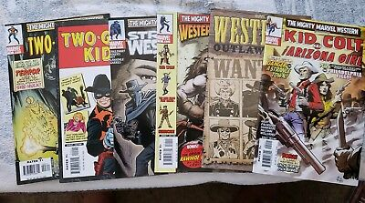 Marvel Western (9) Comic Book Lot featuring Rawhide Kid and others