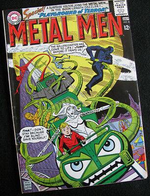 Metal Men 8 (1964) Much Better Than A Reader's Copy! Lots Of Large Photos!