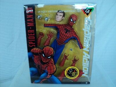 Forever Fun Captain Action 1:6 scale SPIDER-MAN uniform! Hawkeye bow! (T 342)