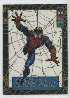 1994 Fleer Marvel Cards The Amazing Suspended Animation #10 Spider-Man Card 0p3