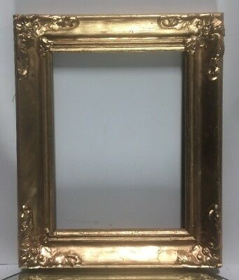 "VTG. Aesthetic Eastlake Victorian Solid Wood Ornate Picture Frame Fits 6""x 8"""