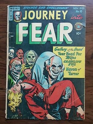 Journey into Fear Comic Book 1952 #10