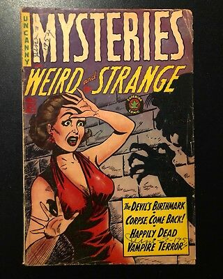 Mysteries Weird and Strange #8 GD (Superior Publications, 1954) Extremely Scarce