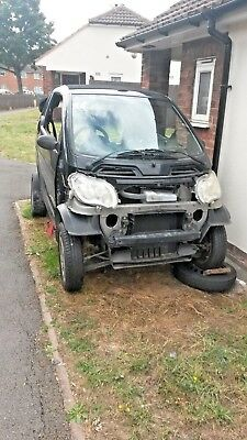 smart  car convertabl for parts complete less engine
