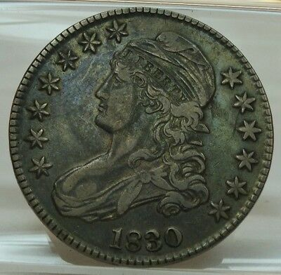 1830 Capped Bust, Lettered Edge Half Dollar