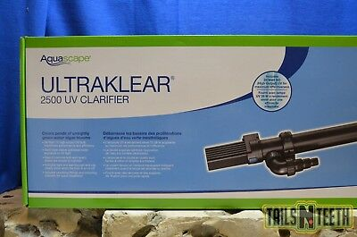 Aquascape UltraKlear 2500 UV Pond Clarifier 28w -Clears Green Water Algae Blooms