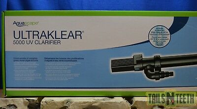 Aquascape UltraKlear 5000 UV Pond Clarifier 55w -Clears Green Water Algae Blooms