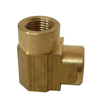 Everbilt SELECT Lead-Free Brass Pipe 90-Degree Elbow 3/8 in. FIP 3 OPTIONS Plumb