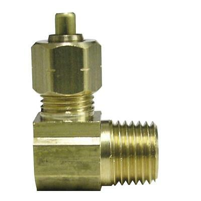 "Everbilt SELECT Lead-Free Brass Compression 90 Degree Elbow 1/4"" x 1/8"" MIP"