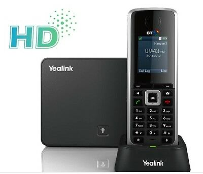 YeaLink W52P Business IP HD DECT Cordless Phone with Base