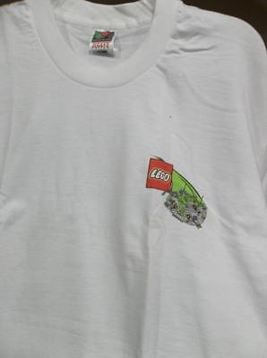 New LEGO 1997 World Tour T-Shirt Men's XL Heavy Cotton Fruit of the Loom NWT USA