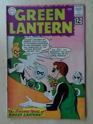 GREEN LANTERN #11 ~  VERY GOOD+ ~ (1st GREEN LANTERN CORPS) ~ NEW MOVIE COMING