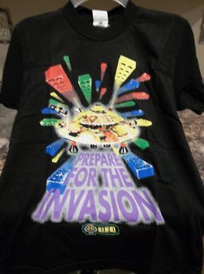 New LEGO UFO T-Shirt OSCAR MAYER Premium Sz 18-20 Fruit of the Loom 100% Cotton