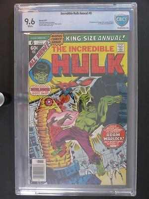 Incredible Hulk Annual #6 -NEAR MINT- CBCS 9.6 NM+ Marvel 1977 - 1st App Paragon
