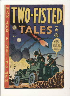 Two-Fisted Tales (1950 series) #23 in Very Good condition. E.C. comics