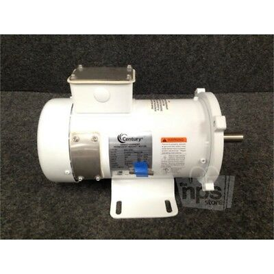 Century C42D17WK3A Direct Current Permanent Magnet Motor, 1/2 HP, 90 Volts*