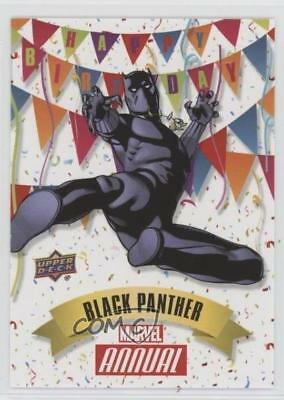 2016 Upper Deck Marvel Annual Happy Birthday #HB-0 Achievement Black Panther 4jc