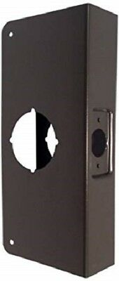 Don Jo 4-10-CW Door Wrap Around Reinforcer 2-1/8 Hole 1-3/4 Thick, 2-3/4 Backset