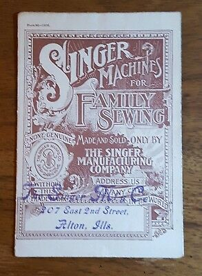 Singer Machines for Family Sewing Advertisement, Cabinet Tables (w/foldout)
