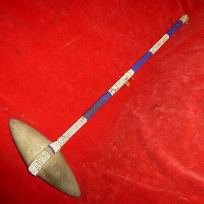 "Rare -Orig Ca 1840 Native American 22"" Sioux Indian Fierce Pointed War Tomahawk"