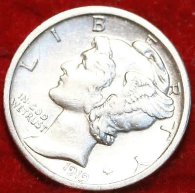 1919-S San Francisco Mint Silver Mercury Dime