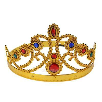 Crown Essential Creative Decor For Cosplay Birthday King/Queen Halloween Ball