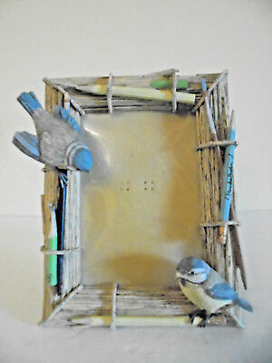 Marjolein Bastin 4 X 6 PICTURE FRAME Birds Art Pencils Brushes Hallmark