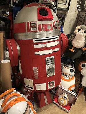 Life Size Star Wars Aluminum and Steel Astromech R2-R9 Remote ControlledFullSize