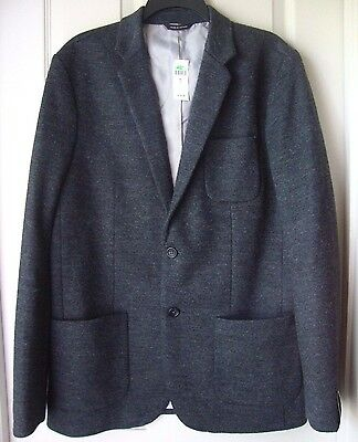 Banana Republic Mens Tailored Fit Wool Blend Sport Jacket Charcoal Variety Sizes