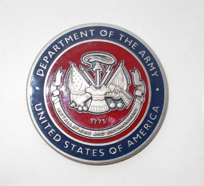 US Coin Department of the Army Assistent Secretary of the Army Installations USA