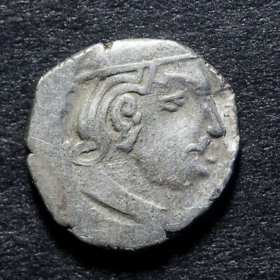 Ancient India - Western Kshatrap - Kings Potrate - Rarest Silver Coin- Free S&h