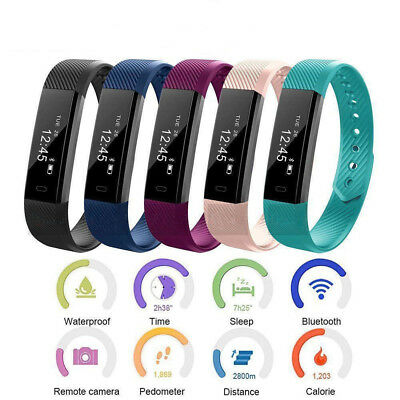 New Style Children's Smart Gym Tracker Kids safe Pedometer Step Counter Fitbit